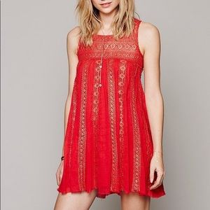 Free People Foiled Annabella Dress